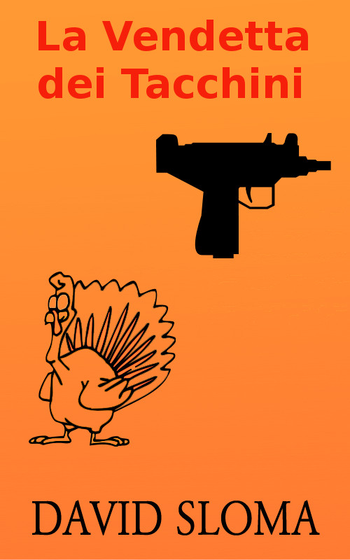 Turkey day revenge Italian cover ebook