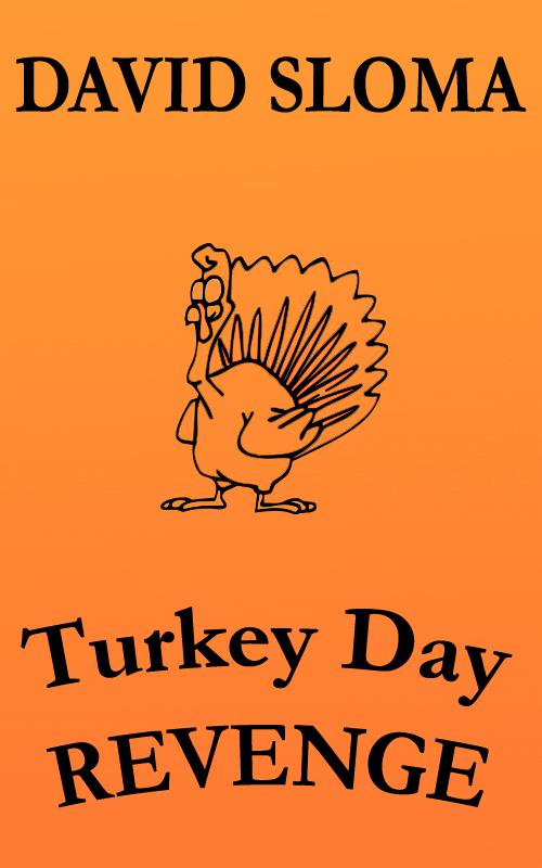 "Writing my short story ""Turkey Day REVENGE"""