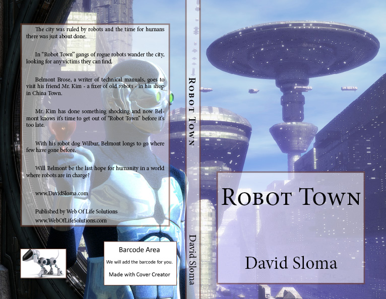 """Robot Town"" – my new book"
