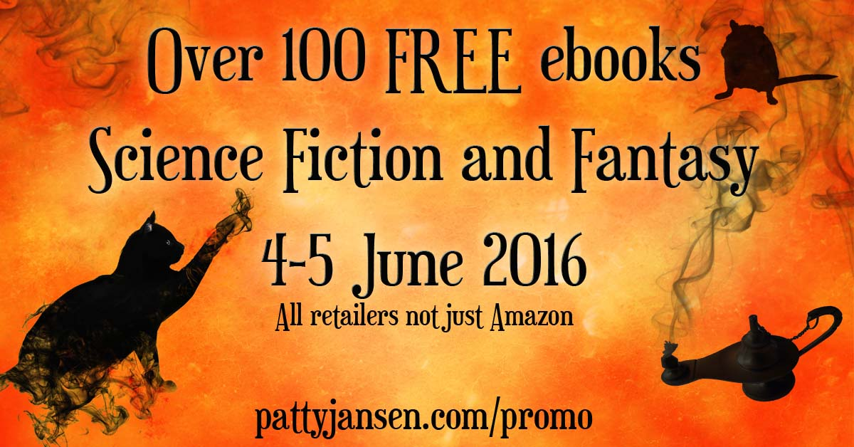 Over 100 FREE Science Fiction and Fantasy ebooks – June 4 and 5, 2016