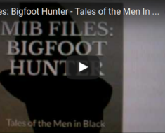 Big Foot Story MIB Files Story Book cover